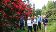 These are photographs of the Kinneff Reelers & Friends Annual Charity Walk '14; a round trip walk from/to Dykehead (Cortachy), via The Airlie Memorial Monument, The Goal and Cortachy Castle...